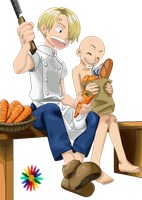 Little Sanji Base by RainDrops212