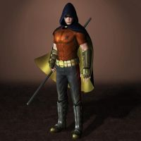 Batman Arkham City Robin by ArmachamCorp