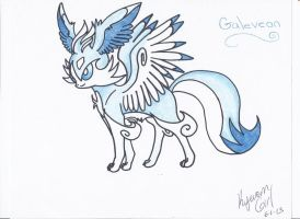 Galeveon by KyuremGirl