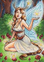Celtic Faery by AmyClark