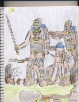 Cininan Soldiers by CMBeckerProductions