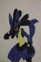 Lucario Arrives by FlyingLion76