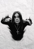 ozzy osbourne by shavostrawhat