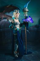 Victorious Janna Cosplay - League of Legends by Yuukiq