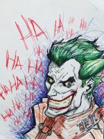 The Joker by Alende