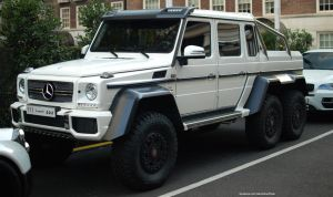 Mercedes-Benz G63 6X6 by ShadowPhotography