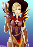 Witch Mercy by HuntingForFrogs