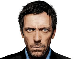 Dr. House Portrait by ArrtMan