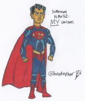 New 52 Superman: My Version by rulkout1993