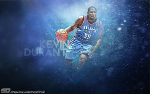 Kevin Durant by Sanoinoi