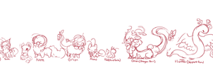 :Some of my OCs: by PrePAWSterous
