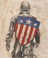 Captain America - Wartime by Miss-Lizzie-Jane