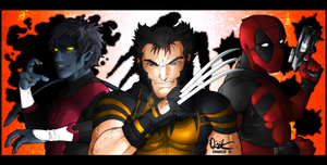X-Men Axis Trio by Blindice