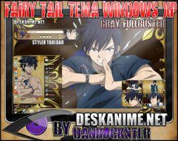 Gray Fullbuster Theme Windows XP by Danrockster