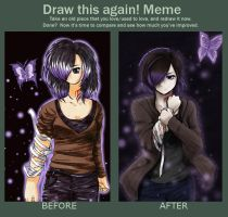 Draw it Again meme by limeyukiko