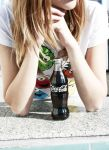 perfect bottle of cola by KariZza