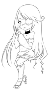 .:UTAU Sketch Com1:. Arisu by A-Daiya