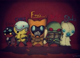 Wasteland Odyssey : Main Characters by x-SuperTramp-x