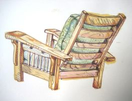 Chair by hollrock