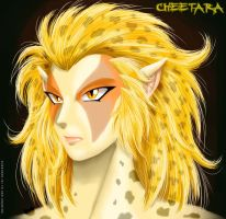 Cheetara - Face by R-Wolverine