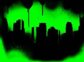 Toxic Skyline. by chemicalkid101