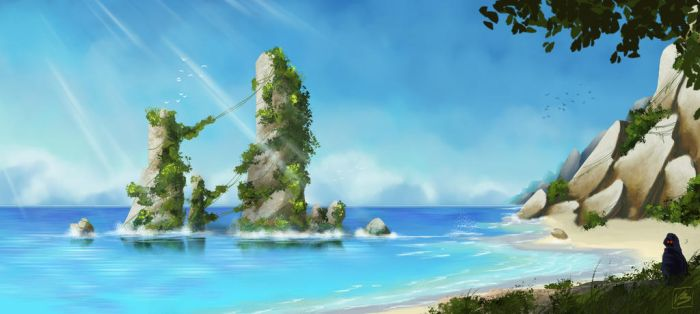 Discovering_the_beach by Absalom7