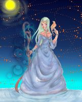 Faerie of the Fireflies by silverblueroses