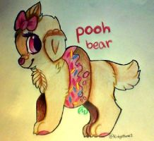 Pooh Bear by misty-paws