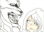 Bleach: Lil' Red and the Big Bad Wolf WIP by RomaniaBlack