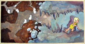 Cave Painting: Warren by frigga