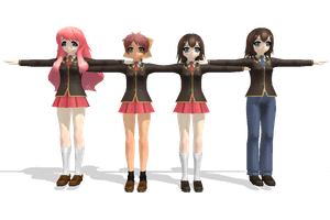 MMD Newcomers Baka And Test... by Anime-Base-Creator