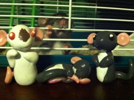 Rattie Cake Toppers by Sara121089