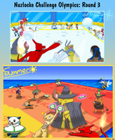 NCO R3: Summer and Winter Olympics by Miss-Arcadia