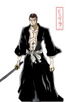 Me as a Bleach Character Color by fenrirthomasb