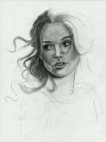 Keira Knightley WIP by AngelinaBenedetti