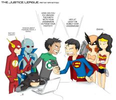 justice league by ravenngo