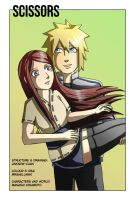 Naruto Doujinshi: Scissors 00 [Cover] by MrsHellman