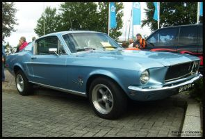 1968     Ford Mustang Fastback by compaan-art