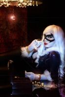 Black Cat - Spider Man by andreylourenco