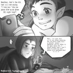 BBRae Late Night Texting by shock777