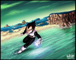 On Namekian Waters by Ferntree