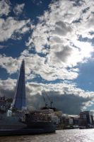 Shard on the Thames by WeaselTea