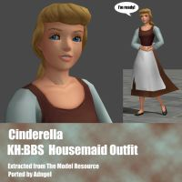 Cinderella Housemaid Outfit by Adngel