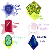 Gemsona mystery adopts (Closed) by Ever-So-Tired
