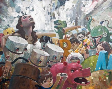 She Was One of Us After All by jasinski