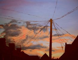 Roath Sunset by lookhappy