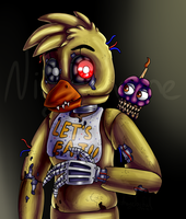 Nightmare Chica (Five Nights at Freddy's 4) by ArtyJoyful