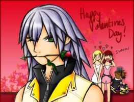 KH2 - Happy Valentines Day by LightningGuy