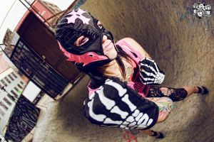 Lydia Fatale Lucha 3 by recipeforhaight