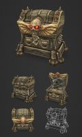 Treasure Chest Large by bitgem